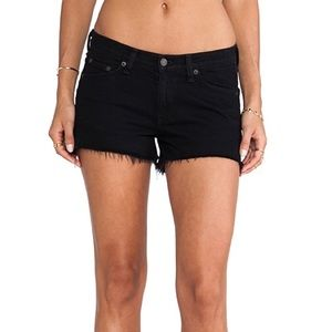 rag & bone/JEAN cut off short in coal
